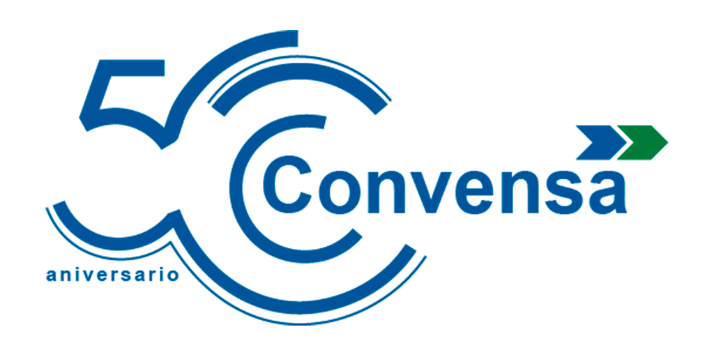 Convensa presents the logo for its 50th Anniversary